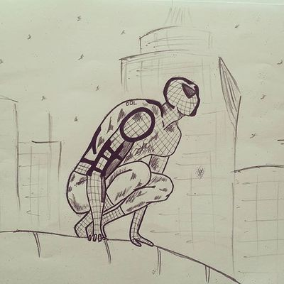 그림 그림스타그램 Draw Drawing Illustration Illust Pen Pencil 펜 Marvel Avengers Spiderman Spidy 마블 어벤져스 스파이더맨 스파이디 한글 Korean 낙서