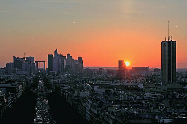 Paris Vanishing Point Captured Moment Sunset EyeEm Best Shots Lost In The Landscape