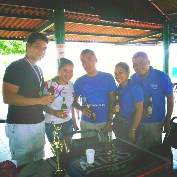 Celebracion Friends Parking Beers MillerDraft Panama WeAreTheChampions BlueTeam InstaMoments