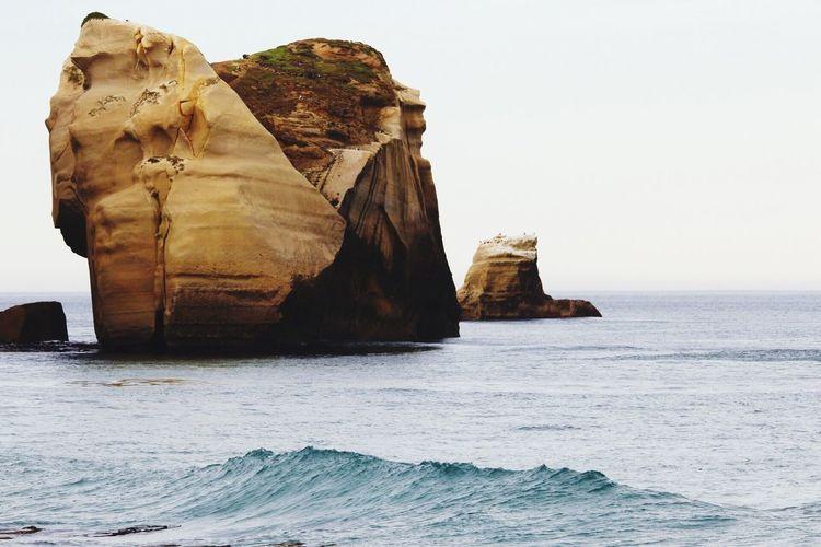Tunnel Beach Island Dunedin New Zealand Dunedin Waves
