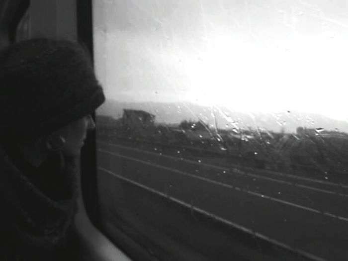 Feel The Journey Blackandwhite Photography People Photography People Watching Train Traveling By Train Through The Window The Week Of Eyeem Showcase June