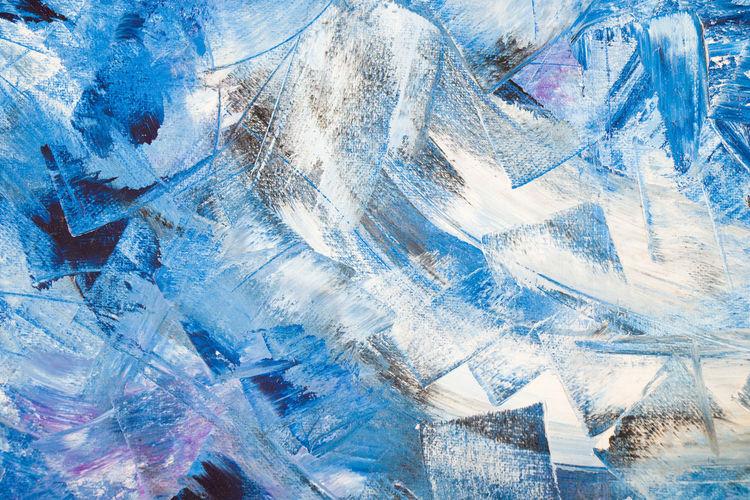 Full frame shot of ice glass