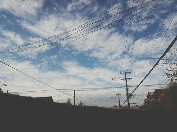 Day Clouds Nature Happiness {{I should ink my skin with your name}}