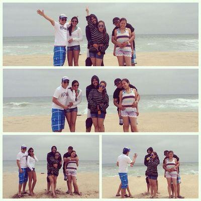 say what!? Yolo Beach Friends Living $love ♥@hector_alvarado @freddyq87