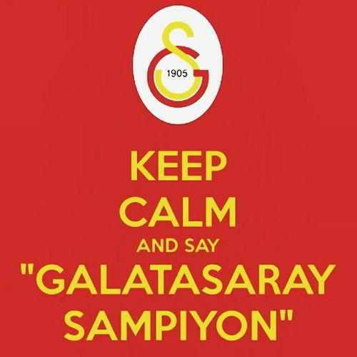 Champion.... GalatasarayAsk.... Champion GALATASARAY ☝☝ GalataSaray Galatasaray Cimbom 💛❤️ Sampiyon GALATASARAY Sarikirmizim Tek Ask Galatasaray Turkey Hello World Check This Out