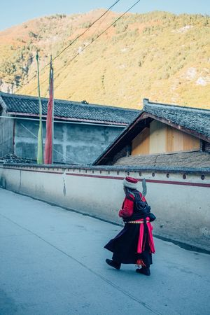 China Mountain Old Traditional Clothing Colours Documentary Eye4photography  VSCO Travel Photography Vscocam Journey Countryside EyeEm Best Shots Road Check This Out Redstartravel