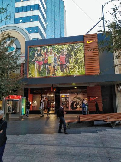 Running Australia Adelaide Adelaide S.A. Sign People Running Clubs Nike™ Nike+ Run Club Swoosh™ Commercial Signs JustDoIt Nike, Just Do It Nikerunning Nike✔ Just Do It Just Do It ✔ Street Streetphotography People SIGNS: SIGN. Check This Out Street Photography Adelaide Nike Architecture Building Exterior Built Structure Street Scene