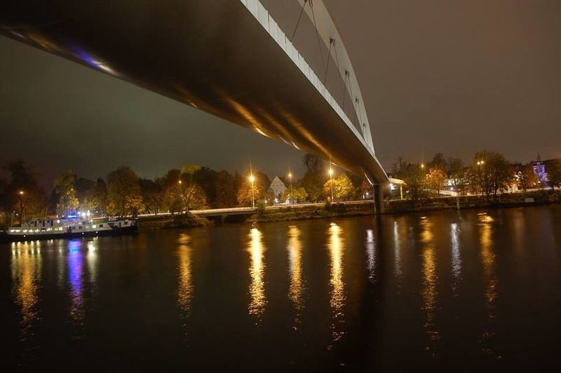 Bridge Nightphotography Night Maastricht