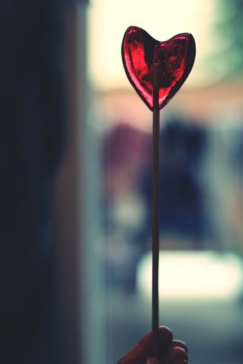 Heart Shape Love Red Human Body Part Close-up Holiday - Event Day Candy Sweet Food People Human Hand Valentine's Day - Holiday Handmade Gift Lollipop Modern Hospitality The Still Life Photographer - 2018 EyeEm Awards The Creative - 2018 EyeEm Awards