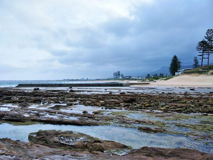 Beach Sea Water Outdoors Sky Cloud - Sky No People