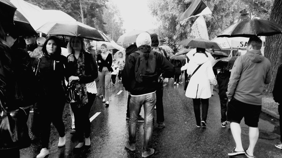 Kotkan Meripäivät Street Photography Rainy Day Umbrella Hanging Out Enjoying Life City Life My City