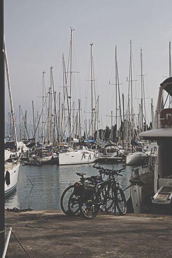 Greece Corfu Marina
