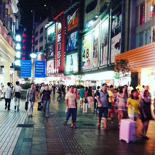 Shenzhenchina Shenzhenlaojie Busystreet Retailshopping