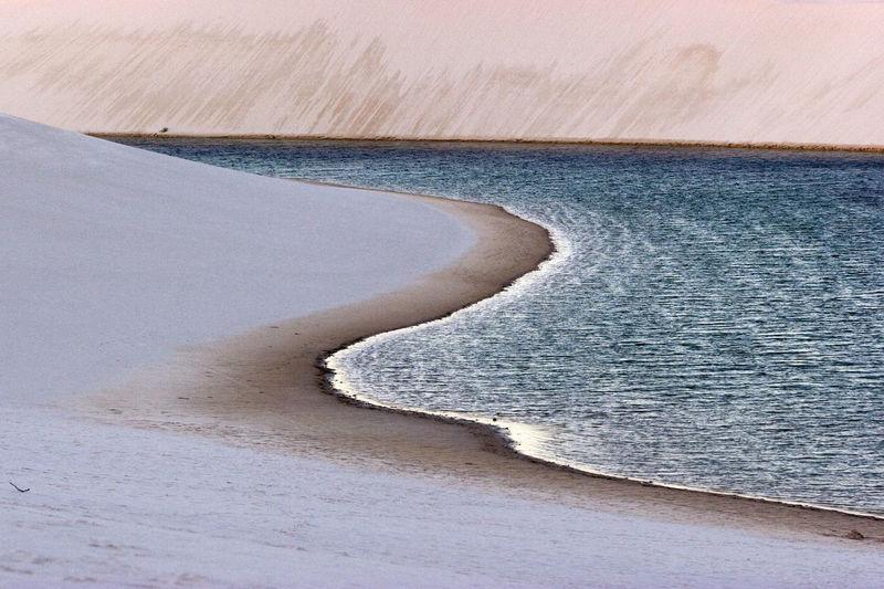 Water Beauty In Nature Scenics - Nature Curve Tranquil Scene Sand Outdoors Nature