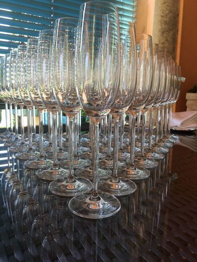 Wineglass Table Food And Drink Wine Alcohol Restaurant Indoors  Drinking Glass Party Arrangement Drink No People Large Group Of Objects Place Setting Close-up Day Freshness
