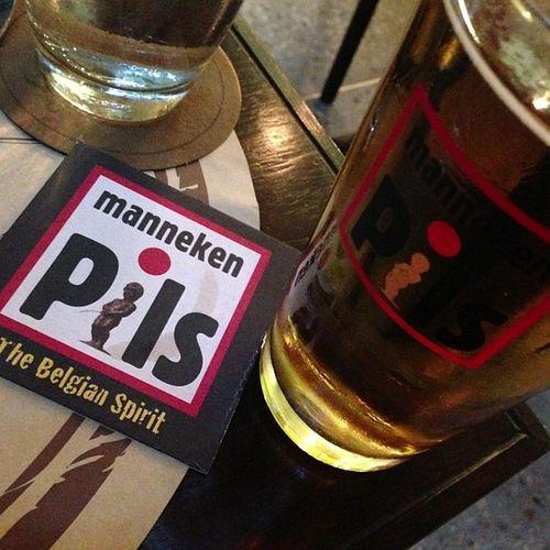 Another!! Mannekanpils Belgienbeer Bier Beer