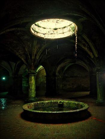 Maroc Morroco El Jadida Citerne Portugaise Citerne Portuguese Tank Underground Puit Puit De Soleil Well  Maroco