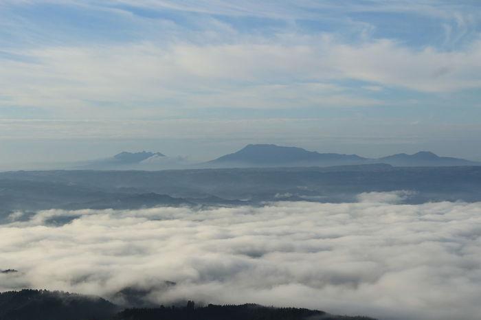 Kumamoto Aso My Favorite Place Oguni EyeEm Gallery Sky Fog Landscape Japan EyeEm Best Shots - Nature My Collection Sea Seacloud Cloud - Sky Mountain 5