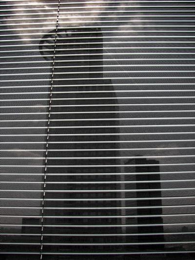 Bankgebäude Design Frankfurt Am Main Hochhaus Jaloussie Pattern Shutter Window