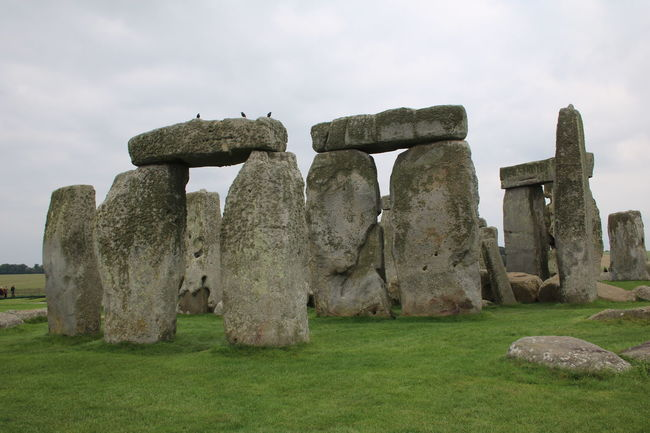 Ancient Ancient Civilization Archaeology Culture Famous Place Field Grass Grassy History International Landmark Old Ruin Rock - Object Stone - Object Stone Material Stonehenge Tourism Travel Destinations