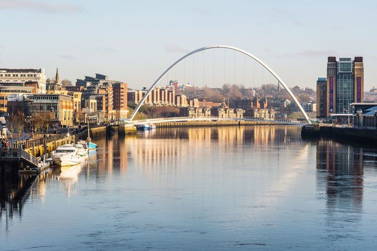 The Week On EyeEm North East England Reflection Reflection_collection Nikon Riverside EyeEm Masterclass Betterlandscapes Architecture Built Structure Water Building Exterior Reflection Travel Destinations Sky Outdoors City
