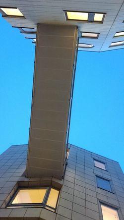 Office Building Marievik Lookingup Connection Architecture