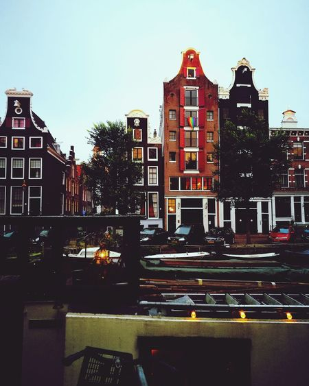 Building Exterior Buildings EyeEm Best Shots - Landscape EyeEmNewHere Check This Out Architecture History Art Vacations Travel Personal Perspective Travel Destinations Day Luminosity Close-up Illuminated No People Holland Amsterdam Love Colors Freedom Bicycle Built Structure High Angle View