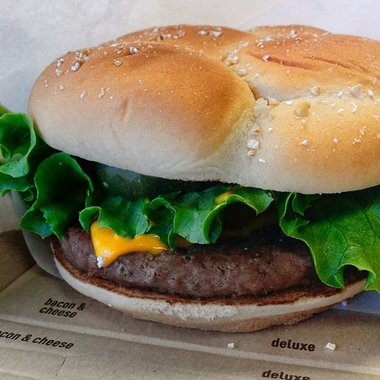 Deluxe quarter pounder, go for it. It has all the nutrition, minerals and vitamins that a healthy body needs. Livehealthy EatHealthy Stayhealthy Foreverhealthy healthy