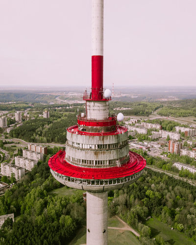 Vilnius TV Tower bird view Built Structure Architecture Building Exterior Nature City Sky Red Tree Plant Day Travel Destinations No People Outdoors Industry Building Tower Water Travel Pollution Vilnius Vilnius, Lithuania Vilnius City Lithuania TV Tower Radio Tv Red Aerial View Aerial Aerial Photography Bird View Flight Flying