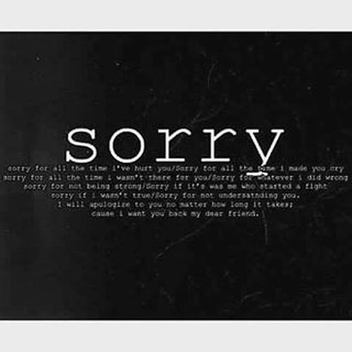 Sorry yaar🙏🙏🙏🙏🙏🙏🙏🙏 I know I hurt you a lot. Bahot rulata hu. Bahot kuch bol deta hun. Tu meri vajah se kitni baar roi hogi. Dekh aaj bhi rula diya. Kya karun yaar aadat se majboor hun na main? 😥😥😩😩 Maaf kar de? ❤ ❤ ❤ ❤ ❤ ❤ ❤ ❤ ❤ ❤ ❤ Bas tu naraaz mat ho. Aur ro mat. Sorry sorry sorry sorry sorry For everything I have done.