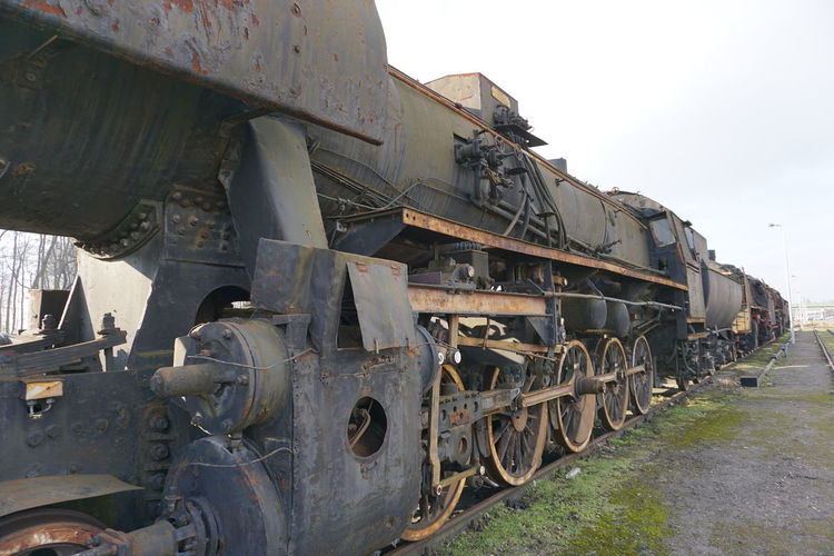 bygone age of steam Bygone Times Bygone Era Steam Locomotive Steam Train Steam Train Grave Yard Steampunk