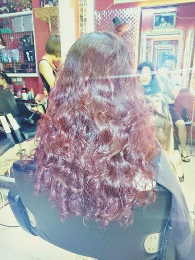 Xoăn Sóng Nước Wavy Hairstyle Www.keovang.com/hocphi