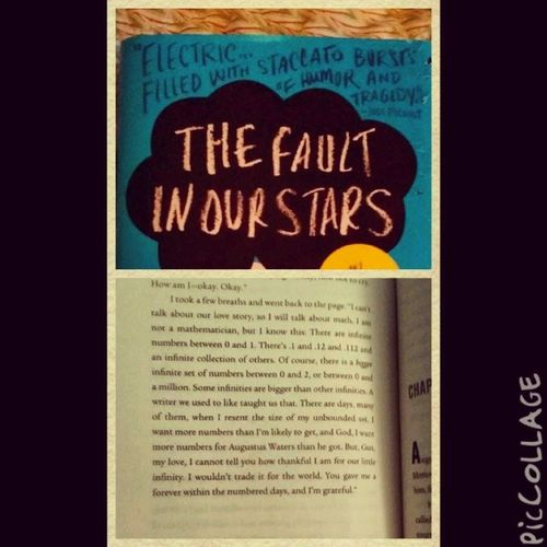 I'm not sure if I'm emotionally ready for The Fault In Our Stars! @johngreenwritesbooks TFioS Thefaultinourstars Augustuswaters Hazelgrace june6th