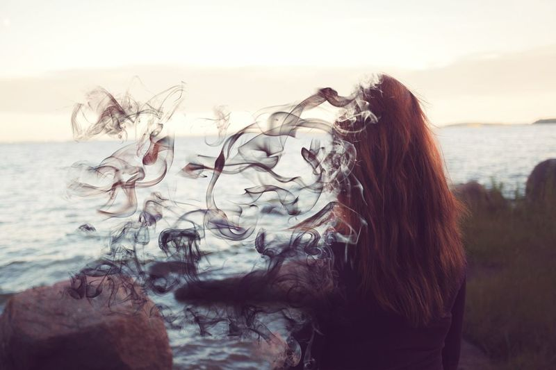 Fade away Capturing Freedom That's Me Taking Photos Photoshoot Sea Check This Out Fading Away Photoshop Gettin Faded Girl