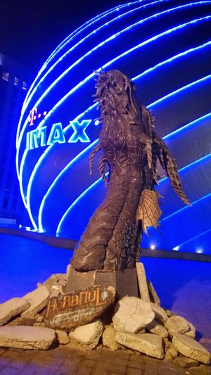 Smaug Dragon Imax Bucharest