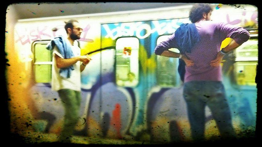 Streetphotography Metro Roma Italy