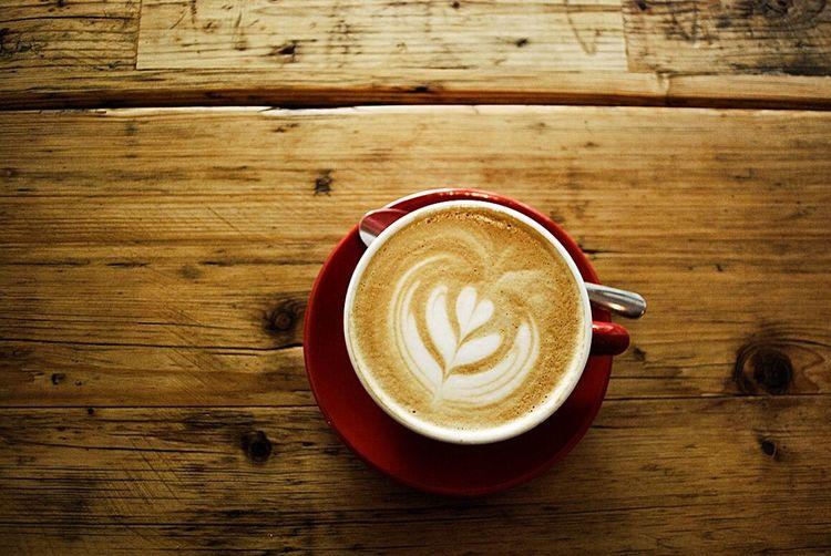 Coffee Coffee Shop Flat White Guten Morgen