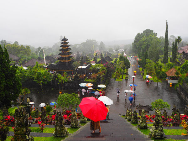☔️Rainy day☔️ Travel Besakih Temple Bali Bali, Indonesia Adapted To The City Architecture Exceptional Photographs Freshness Landscapes Large Group Of People Lifestyles Miles Away Multi Colored Nature Outdoors People Place Of Worship Rain Religion Spirituality Tadaa Community Tourism Travel Destinations Umbrella The City Light Art Is Everywhere The Great Outdoors - 2017 EyeEm Awards The Photojournalist - 2017 EyeEm Awards Done That. Been There. An Eye For Travel The Traveler - 2018 EyeEm Awards