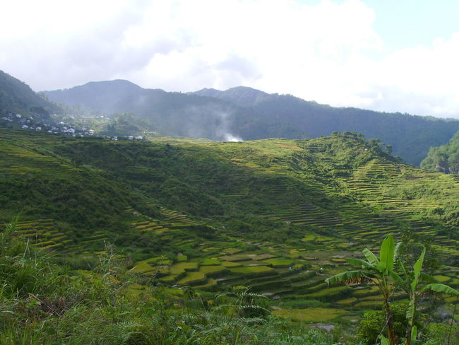 Banawe Countryside Landscape Mountain Mountain Range Philippines Rice Patties Rice Terraces Scenics Tranquil Scene Perspectives On Nature