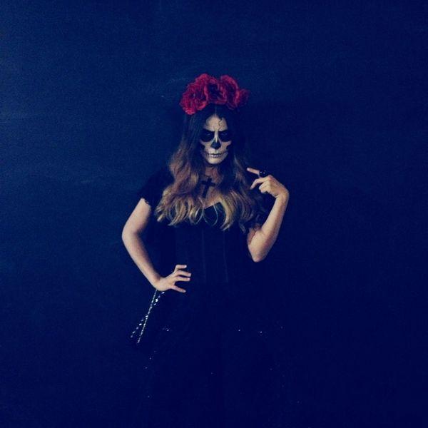 Portrait Skull Tradition Diademuertos