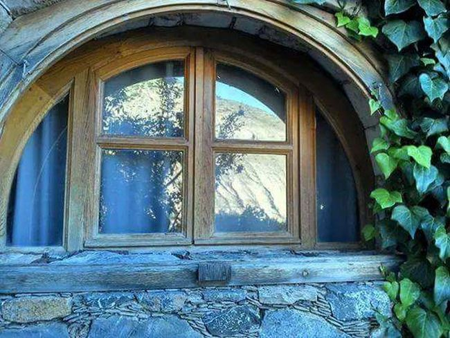 Window House Wood - Material Window Frame No People Architecture Building Exterior Day Outdoors Real De Catorce San Luis Potosí Tree Mountain