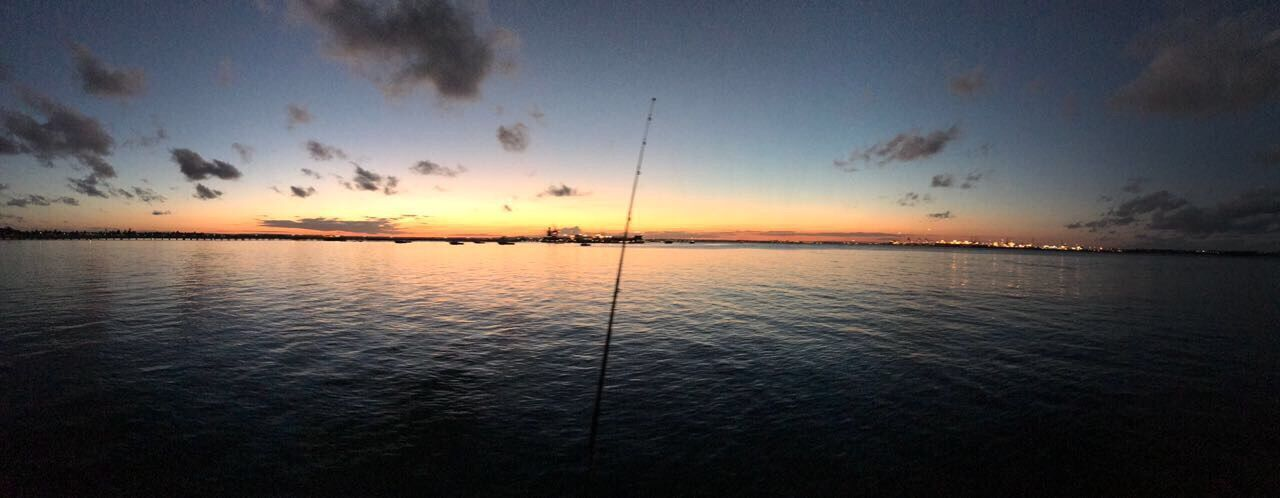 Sunset fishing ..... calm waters surround Little Bay Sydney,NSW....... Sunset Tranquil Scene Tranquility Nature Beauty In Nature Scenics Water Sea Sky Silhouette Cloud - Sky Outdoors Horizon Over Water Discovernsw Fishing Bay Area