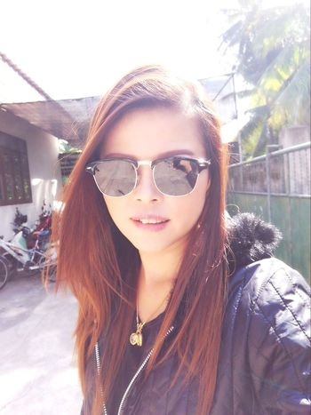 Winter Sunglasses Portrait Young Adult One Woman Only Long Hair One Young Woman Only Only Women
