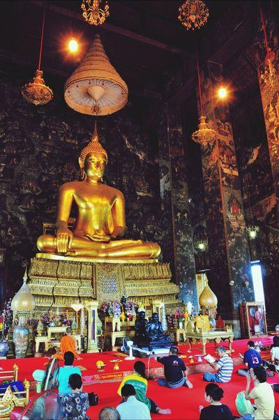 Wat Suthat Bangkok Thailand