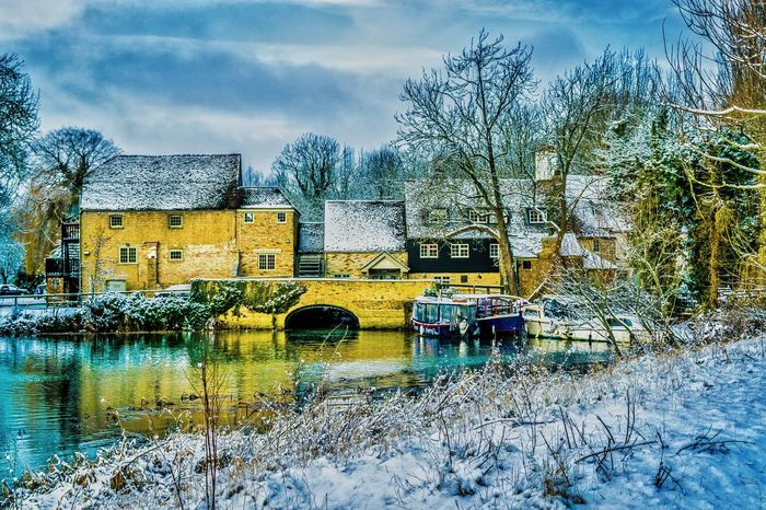 It's Cold Outside Repost Oldmill EyeEm Best Shots - Landscape EyeEm Best Shots EyeEm Best Edits Winter Wonderland Hdr_Collection HDR Winter Taking Photos EyeEm Best Shots - Architecture