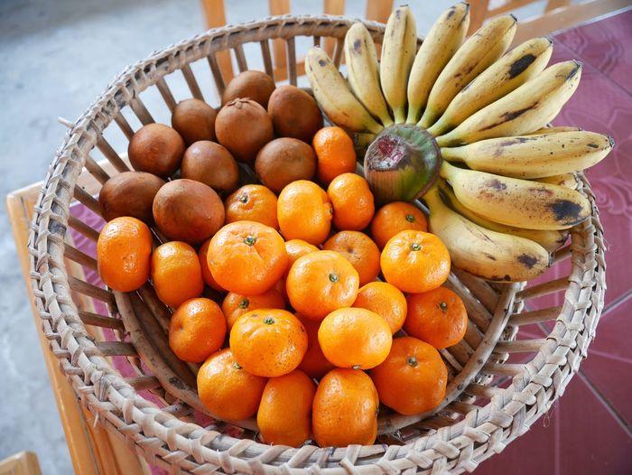 EyeEm Gallery Banana Fruit Eyeem Market EyeEm Thai Style EyeEm Team Fruit Basket Healthy Eating Food And Drink Freshness Food No People Market Day Outdoors Sweet Food Close-up Food Stories