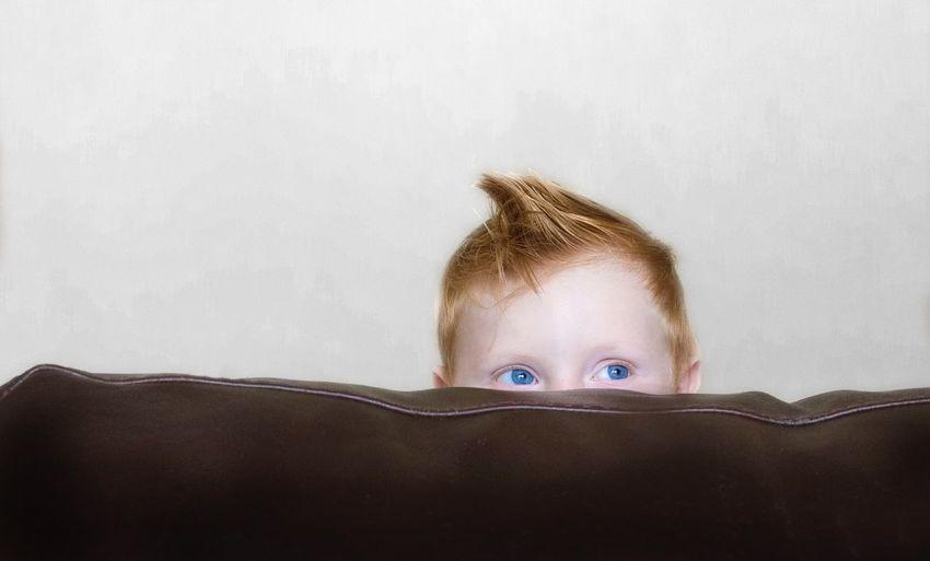 Peekaboo Children Hiding Peekaboo