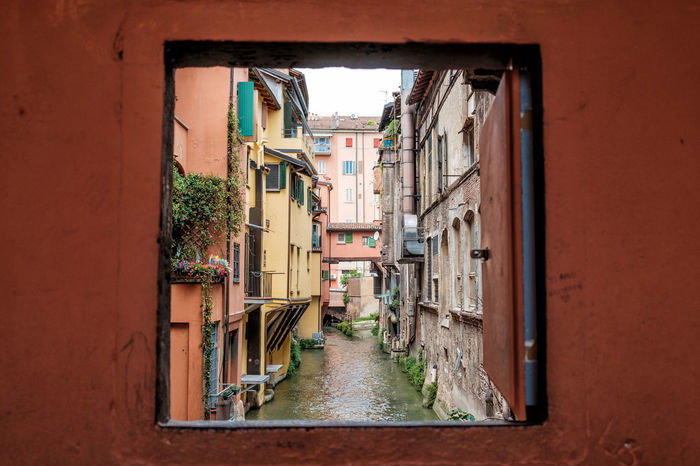 Finestrella di Via Piella Alley Architecture Bologna Bologna, Italy Canal Canals Canalview Diminishing Perspective Fine Art Fine Art Photography Finestrelladiviapiella Heritage Historical Building Historical Sights Italian Lifestyle On The Way The Way Forward Window Window View Eyeemphoto