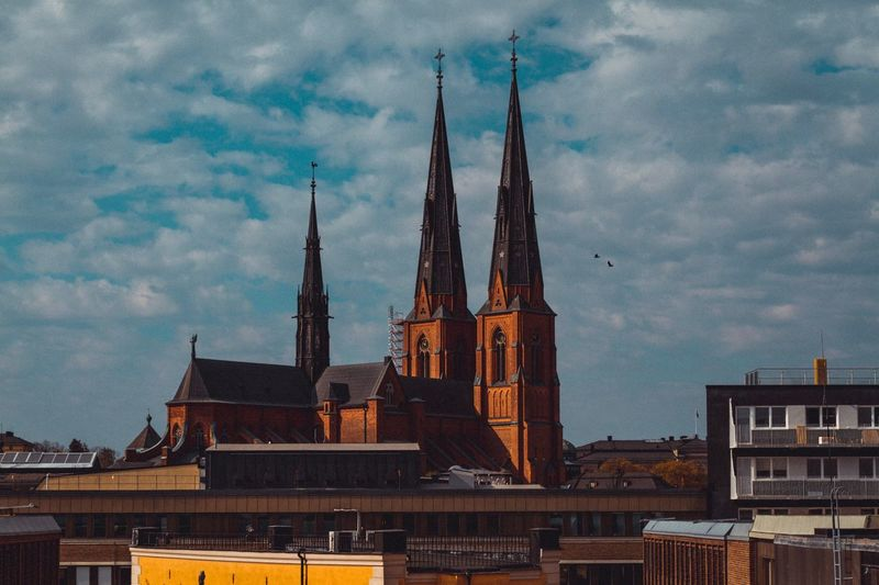 Architecture Building Exterior Built Structure Sky Cloud - Sky Tower Religion Building City Belief History Place Of Worship Spire
