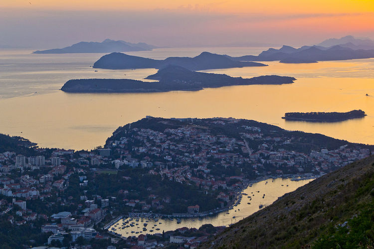 Adria Adriatic Sea Architecture Dubrovnik Dubrovnik, Croatia Hot Hot Day Insel Island Kroatien Mountain Sommer Sunset TOWNSCAPE Travel Destinations Urlaub Go Higher